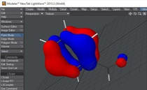 Molecular orbitals in Lightwave 2015